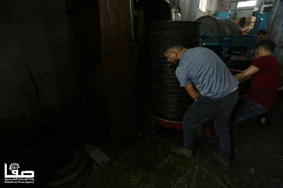 معصرة حجرية لعصر الزيتون في نابلس
