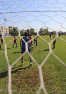 تشامبيونز غزة يتدرب للمشاركة ببطولة دونتسي الدولية بإسبانيا