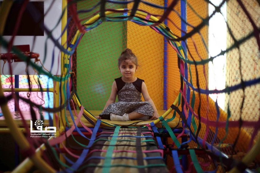 فرحة أطفال غزة بالعيد