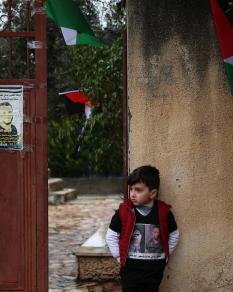 تشييع جثمان الشهيد إلياس ياسين في سلفيت