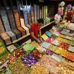 حلوى العيد في متاجر غزة
