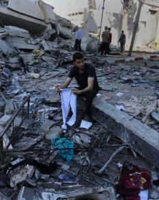 7 شهداء و70 إصابة في العدوان الإسرائيلي المستمر على غزة