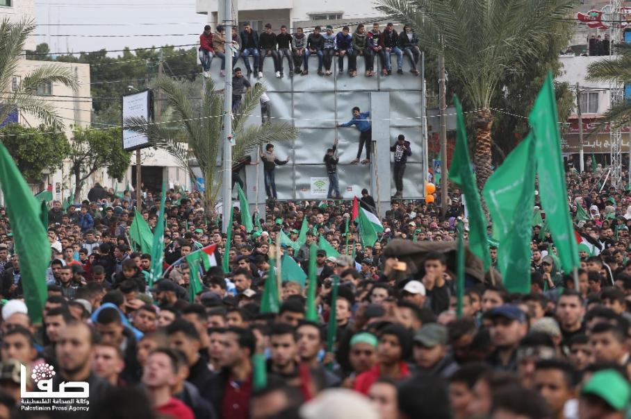 مهرجان انطلاقة حماس الـ 31 بغزة