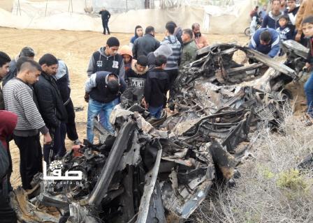 7 شهداء ومقتل ضابط إسرائيلي شرق خانيونس