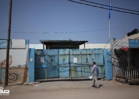 أونروا تغلق نقاط توزيع المساعدات الغذائية في غزة للوقاية من كورونا