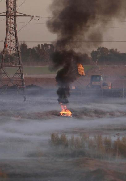 مواجهات تحت وطأة الغاز المُدمع شرق غزة