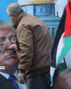 مسيرة رفضًا لـصفقة القرن في غزة