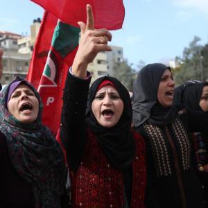 الجبهة الديمقراطية تحتفل بانطلاقتها الـ51 بمهرجان بغزة