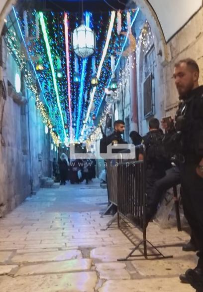 أجواء شهر رمضان من باب حطة بالمسجد الأقصى المبارك