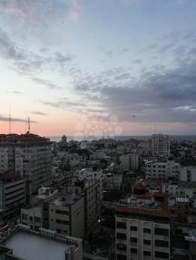 مظهر عام لمدينة غزة