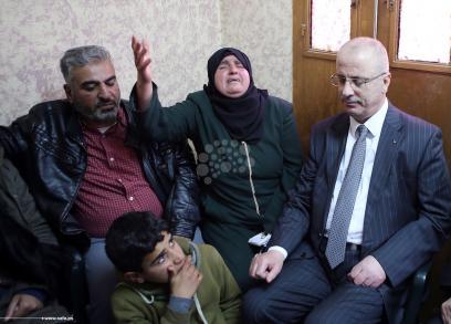 الحمدالله يعزي عائلة الضابط أبو الحاج