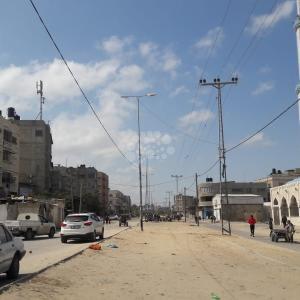 إغلاق سوق الأربعاء بمحافظة خان يونس جنوبي قطاع غزة