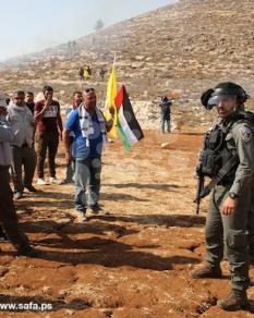 المواجهات الأسبوعية مع الاحتلال بكفر قدوم بالضفة الغربية