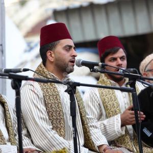 احتفالات الصوفيين بنابلس بذكرى الإسراء والمعراج