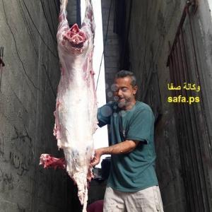 مواطنون بخان يونس استهلوا عيدهم بذبح الأضاحي