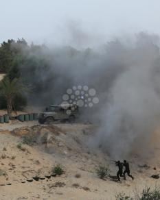 مناورة عسكرية لألوية الناصر صلاح الدين
