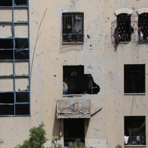 جريمة استهداف عائلة الغزالي شمال القطاع