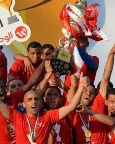شباب رفح بطلًا لكأس غزة