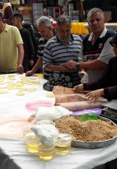 اجواء رمضان بأسواق مدينة رفح