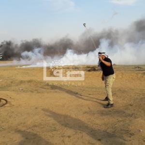 الاحتلال يقمع مسيرات العودة شرق غزة