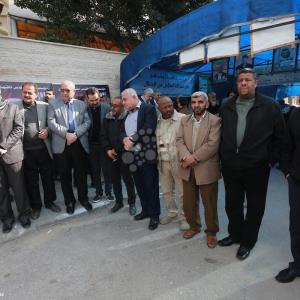 خيمة تضامن مع الأسرى المعزولين بغزة