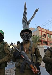 افتتاح ميدان الشهيد فقها في النصيرات