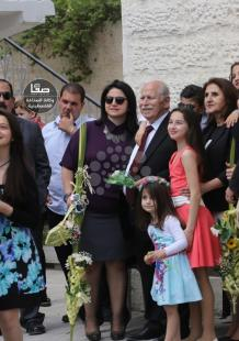 مسيحيون في غزة يحتفلون بـ أحد الشعانين