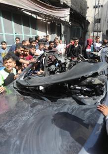 عملية اغتيال الشهيد حامد الخضري بغزة