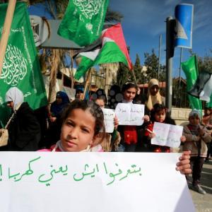احتجاج نسوي على أزمة الكهرباء بغزة