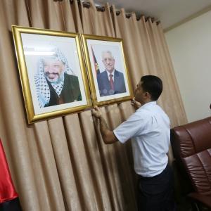 تجهيز مقر مجلس الوزراء بغزة