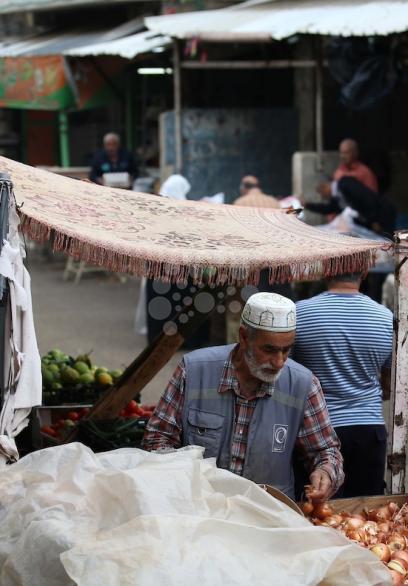 سوق بلاطة في نابلس