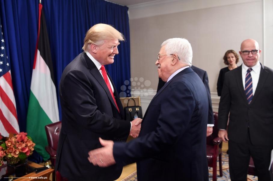 عباس يلتقي ترمب بنيويورك