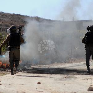 مواجهات مع الاحتلال بمخيم العرّوب
