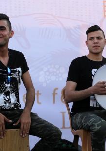 حفل موسيقي بغزة تضامنًا مع الأسرى المضربين