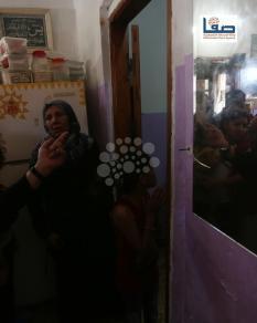 تشييع الشهيد صبري أبو خضر الذي استشهد برصاص الاحتلال شرق غزة