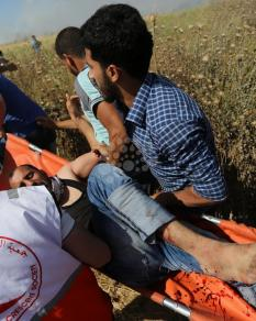 إصابات بمواجهات مع الاحتلال بجمعة غضب للأسرى بغزة