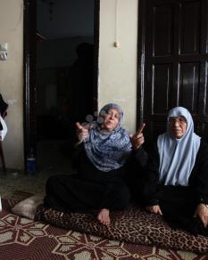 تشييع جثمان الطفل عثمان حلّس