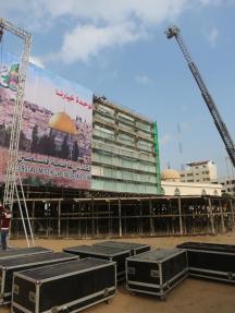 حماس تُهيء الكتيبة لانطلاقتها