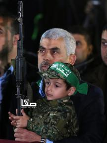 حفل تأبين الشهيد مازن فقها بغزة