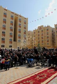 حفل تسليم المرحلة الثانية من شقق مدينة حمد