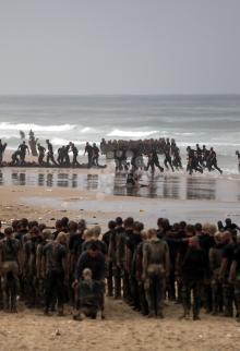 يوم البحر لمستجدي داخلية غزة