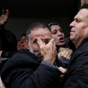 تشييع الشهيد محيسن بغزة