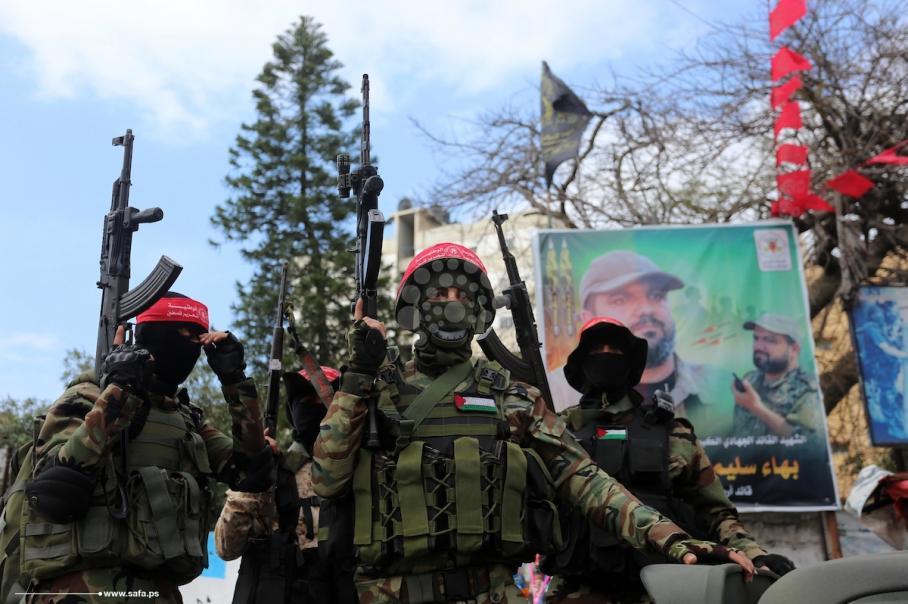 عرض عسكري لكتائب المقاومة الوطنية بذكرى الانطلاقة