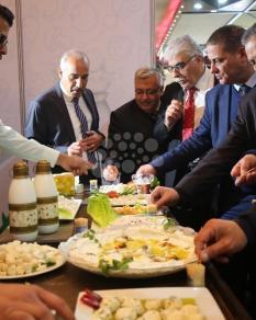 معرض منتجات زراعية بغزة
