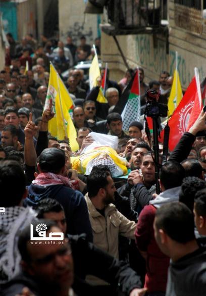 تشييع جثمان الفتى أبو غازي بالعروب