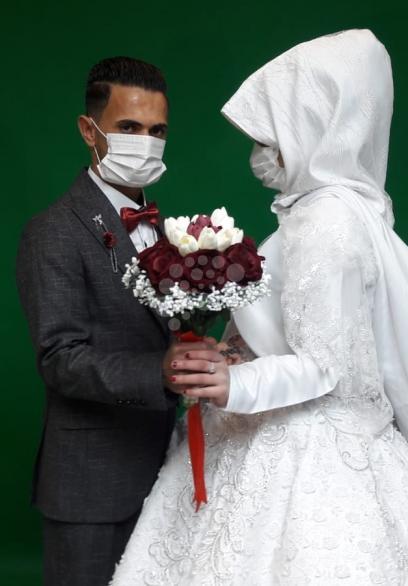 كورونا يُعيد مراسم الزفاف في غزة لـالثمانينيات