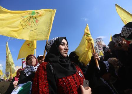 مهرجان بغزة في ذكرى استشهاد عرفات