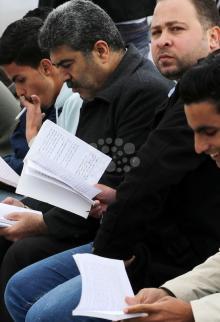 سلسلة القارئ بغزة تُحيي ثقافة المقاومَين عليان والأعرج