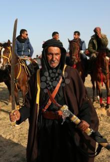 مهرجان تراثي بمناسبة يوم الأرض في دير البلح