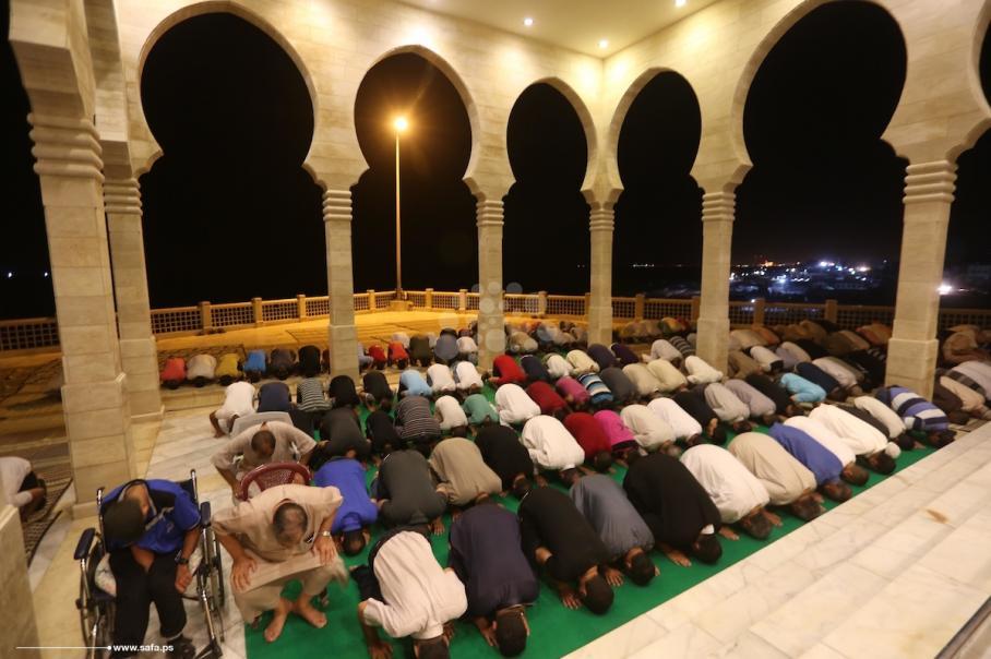 إحياء ليلة السابع والعشرين من رمضان بغزة
